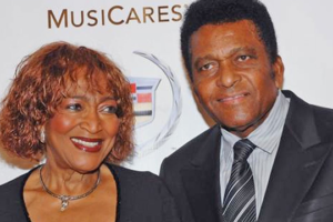 Charley Pride and his wide