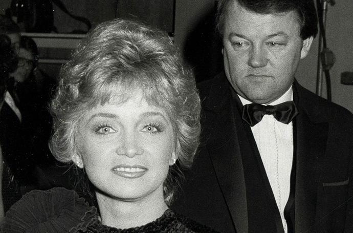 Barbara Mandrell and Ken Dudney