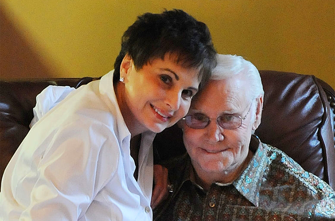 George Jones and wife Nancy
