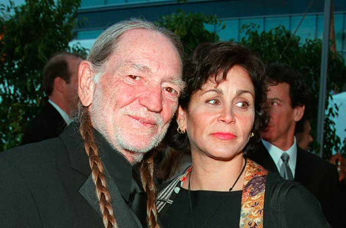 Willie Nelson and Annie D'angelo