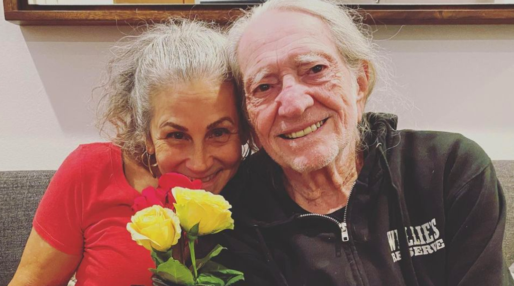 Willie Nelson and Wife Annie D'Angelo