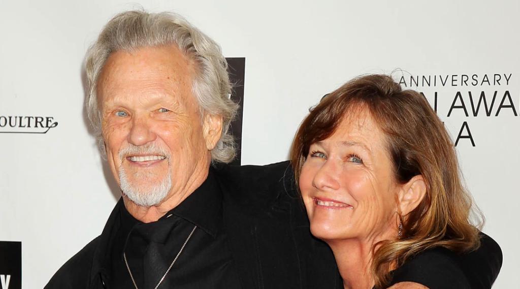 Kris Kristofferson and Lisa Meyers